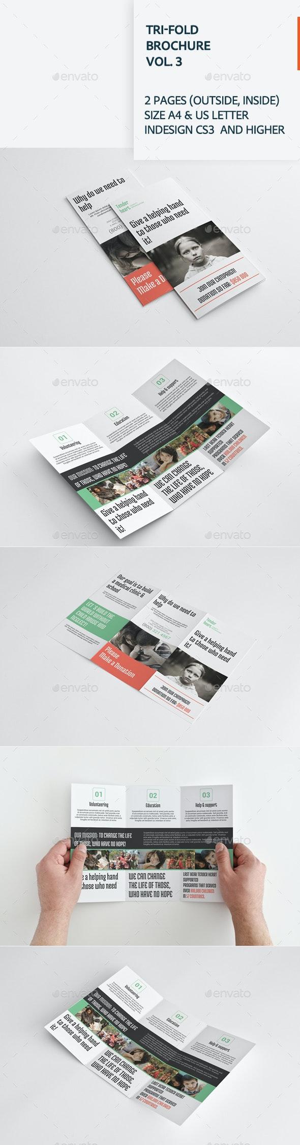 Tri-fold Brochure Vol. 3 - Corporate Brochures