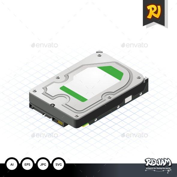 Isometric Hard Disk