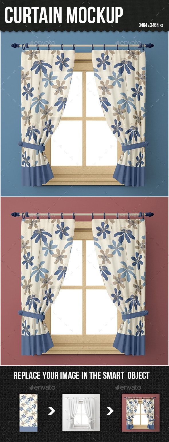 Curtain Mock-up - Miscellaneous Print