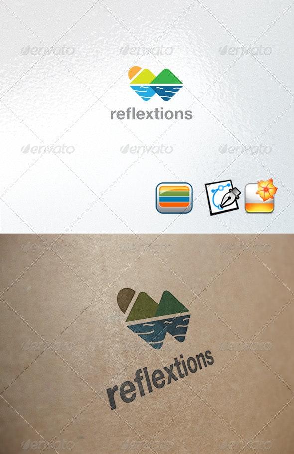 Reflextions Logo - Nature Logo Templates