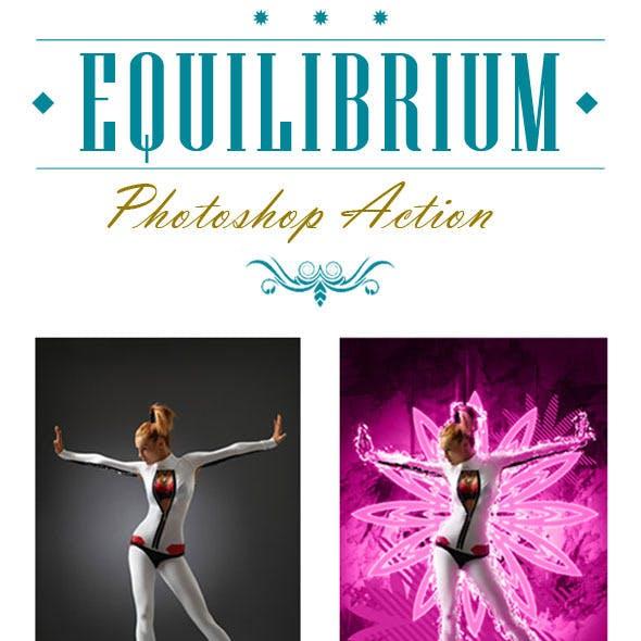 Equilibrium Photoshop Action