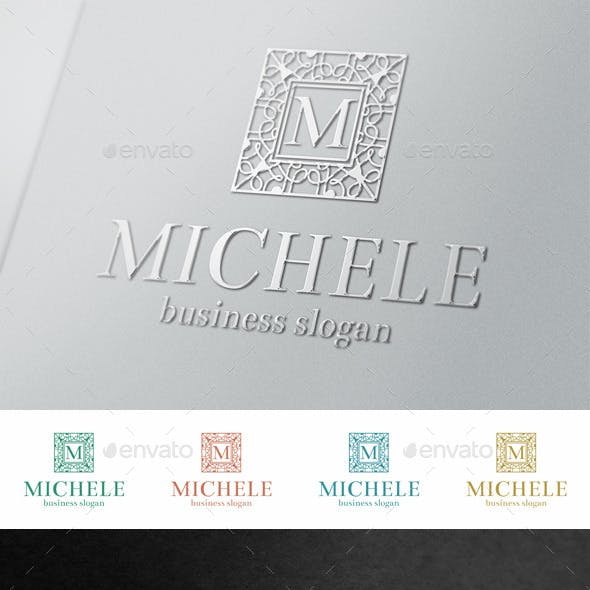 Fashion Boutique Elegant Letter Crest Logo