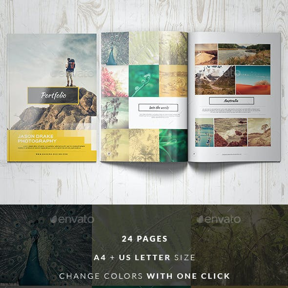 Portfolio Modern Catalog / Brochure