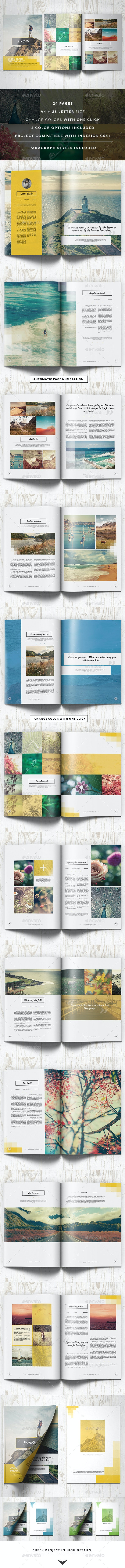 Portfolio Modern Catalog / Brochure - Portfolio Brochures