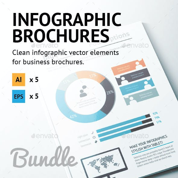 Infographic Brochure Elements Bundle