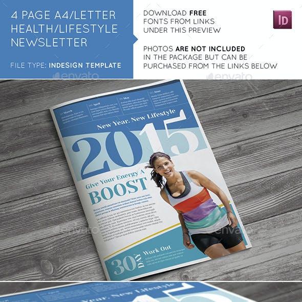 Health / Lifestyle Newsletter
