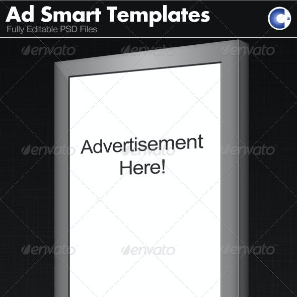 Advertisement Templates - Smart Object
