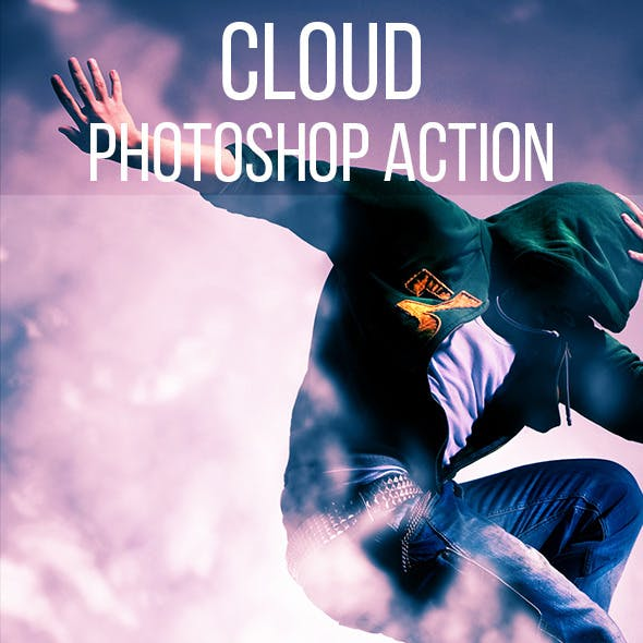 Cloud Photoshop Action