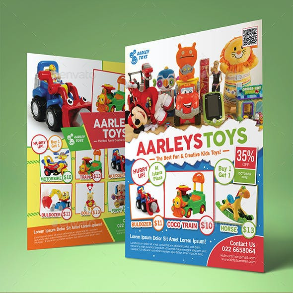Toys Flyer