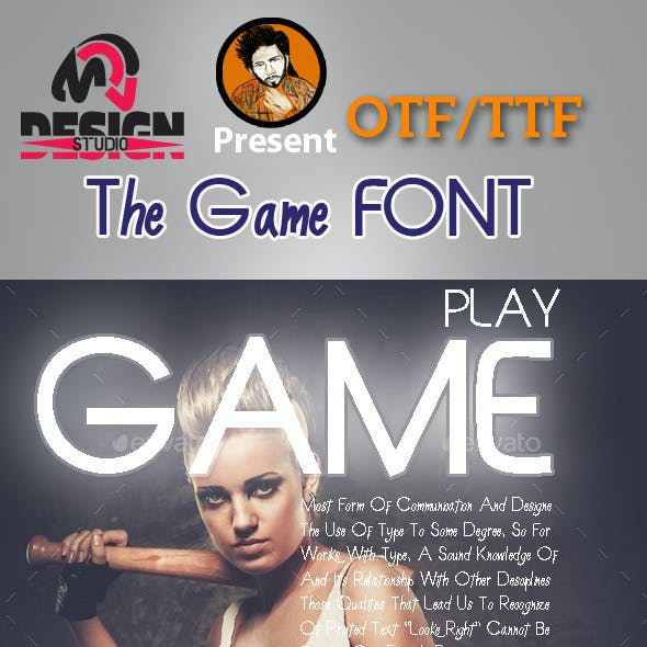 The Game Font