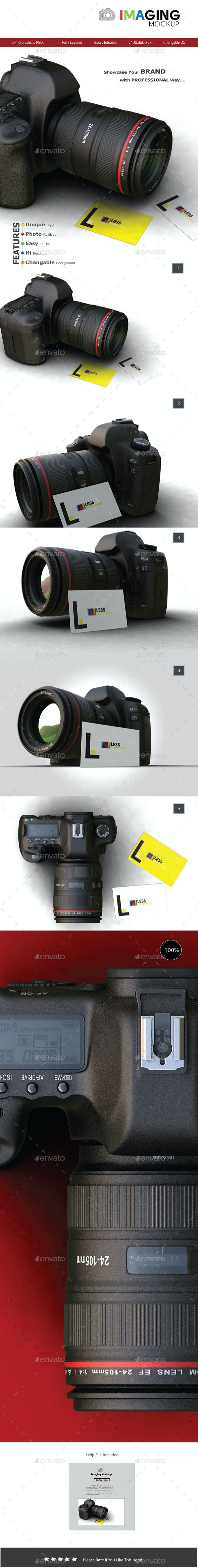Imaging Mockup - Miscellaneous Product Mock-Ups
