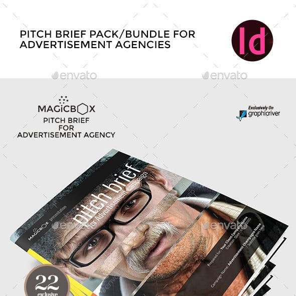 Complete Pitch Brief Bundle Templates