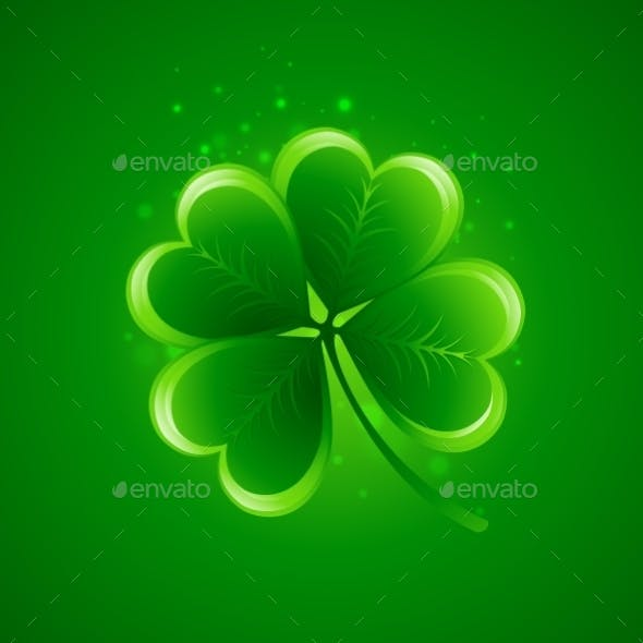 Clover Leaf Saint Patricks Day