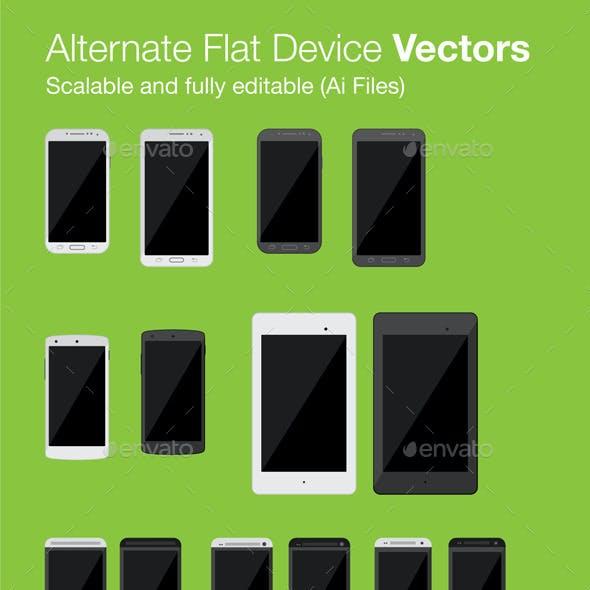 Alternate Flat Device Vectors