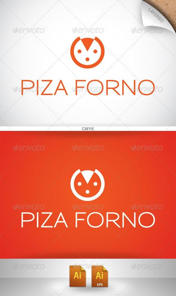 Pizza Forno Logo - Food Logo Templates