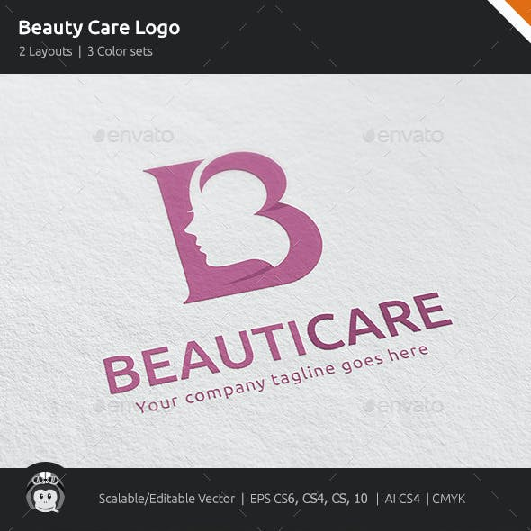 Beauty Care Woman Logo