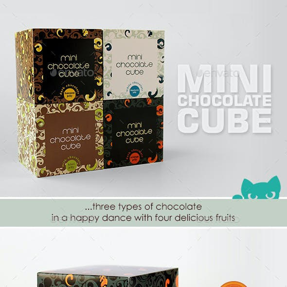 Mini Chocolate Cube
