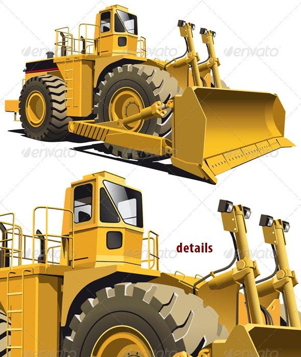 Wheeled dozer - Industries Business