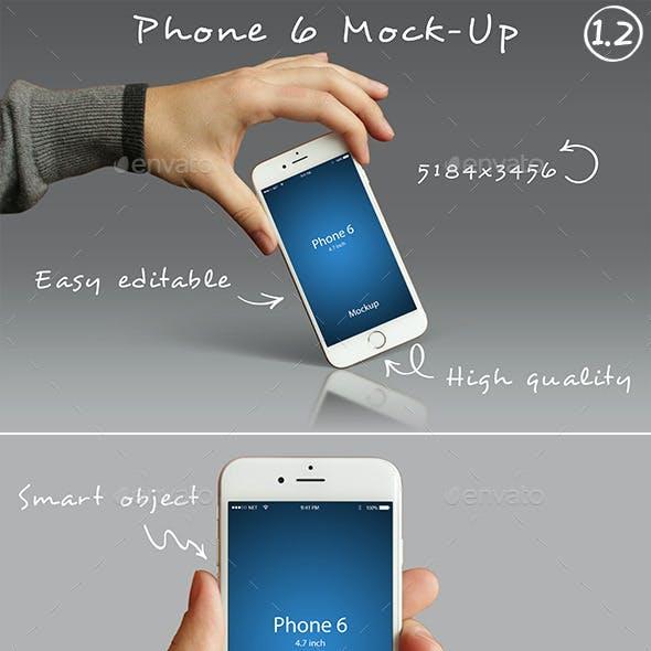 Phone 6 Mockups 1.2