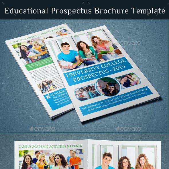 Educational Prospectus Brochure