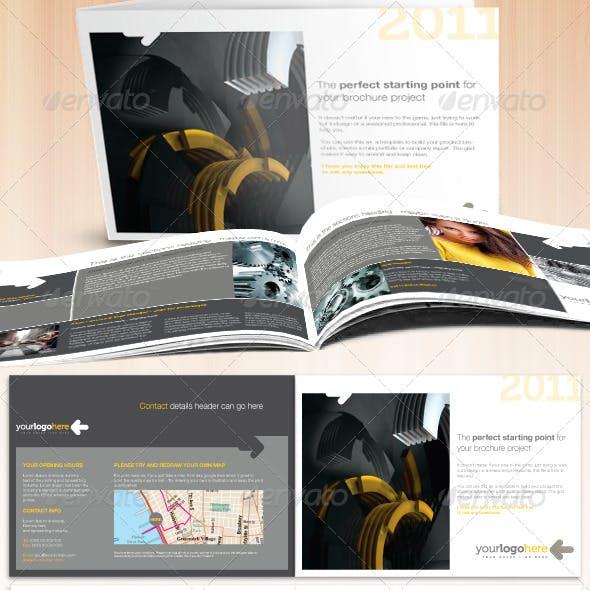Professional Business A5 Landscape Brochure