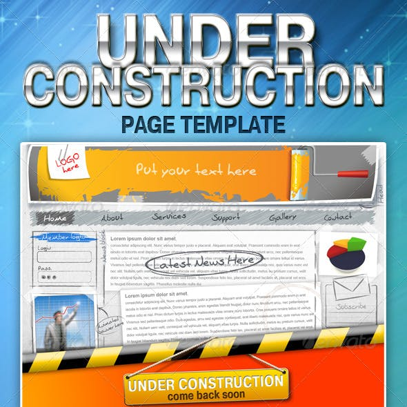 UNDER CONSTRUCTION page template