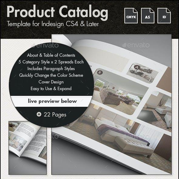 Product Catalog - A5 Landscape
