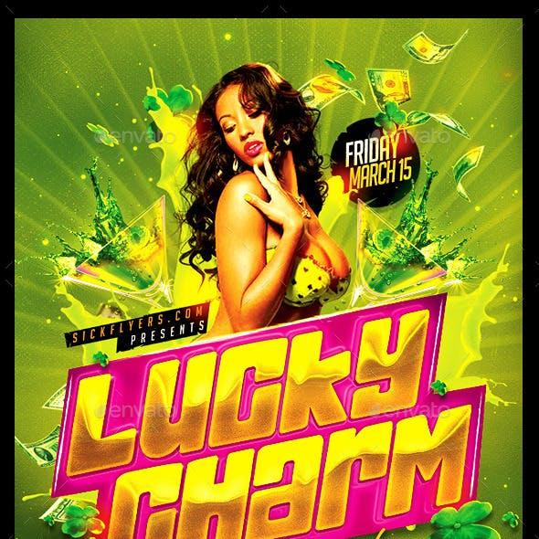 Lucky Charm St Patricks Day Flyer