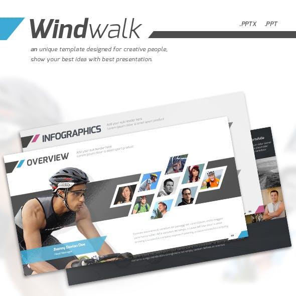 Windwalk - Powerpoint Presentation