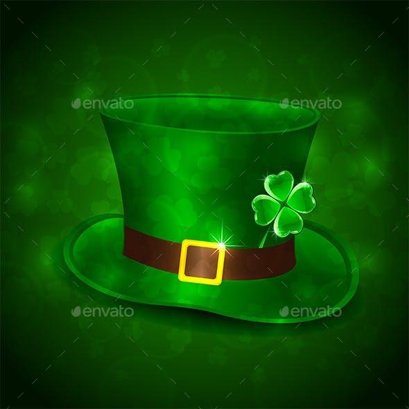 Green Leprechauns Hat