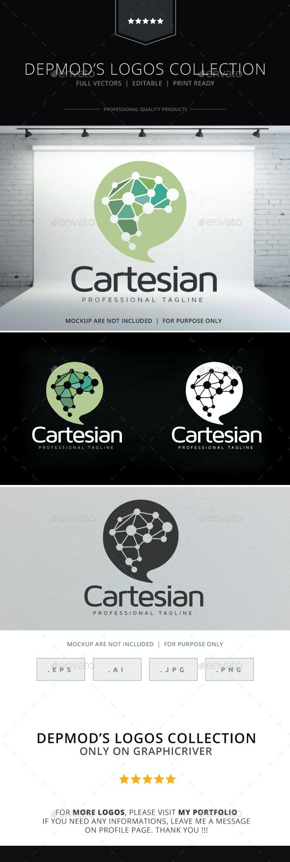 Cartesian Logo - Symbols Logo Templates
