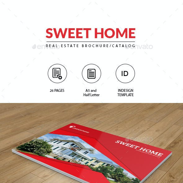 Real Estate Brochure-A5 and Half Letter Size