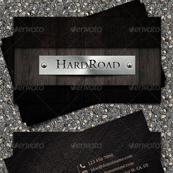 HardRoad Business Card