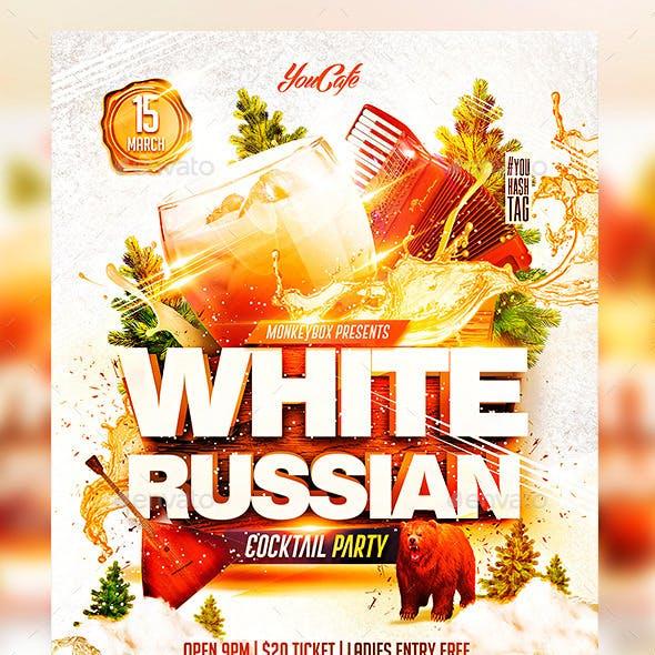 Flyer White Russian Konnekt
