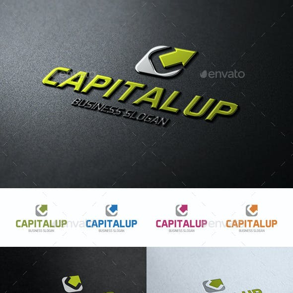 Capital Up C Logo Letter
