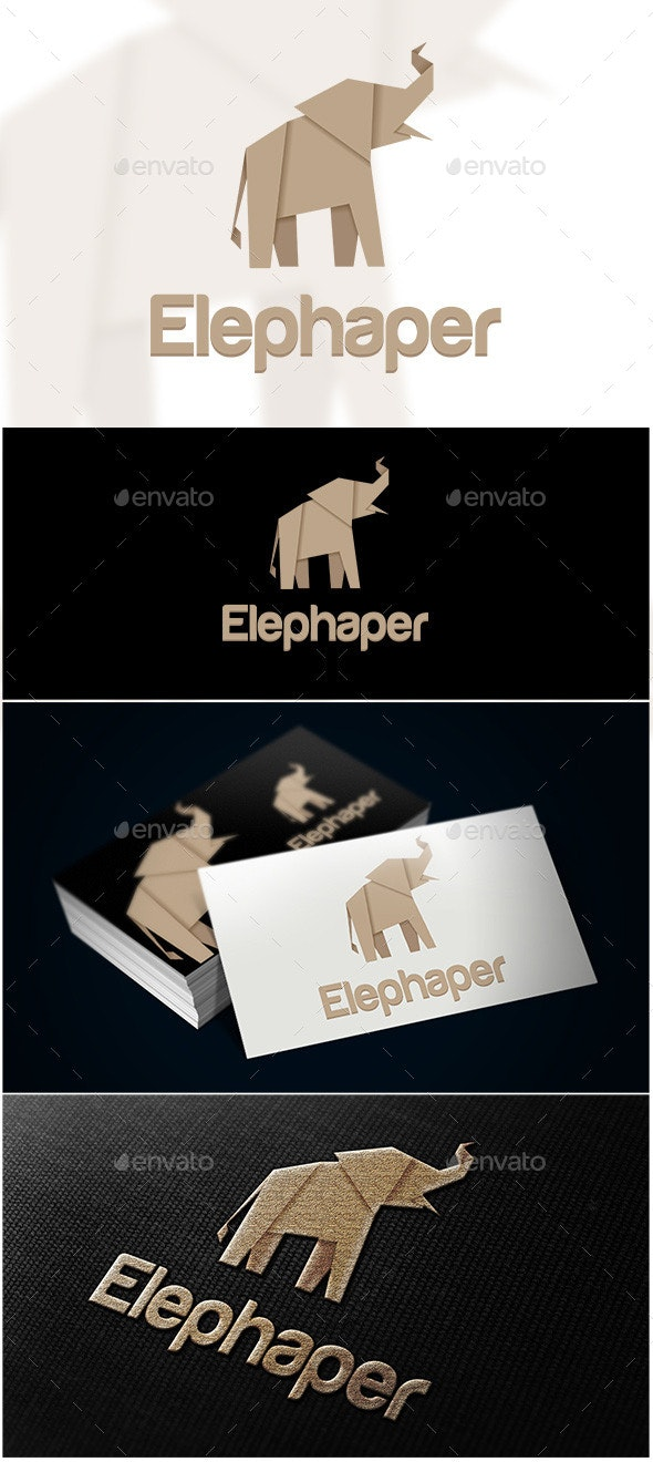 Elephaper Logo - Animals Logo Templates