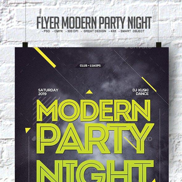 Flyer Modern Party Night