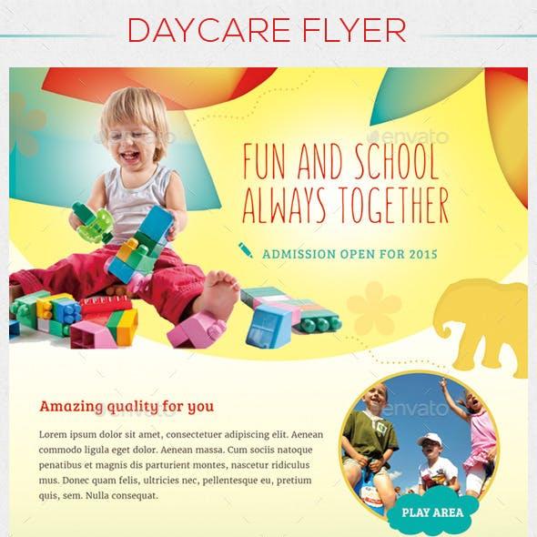 Children / Daycare  Flyer