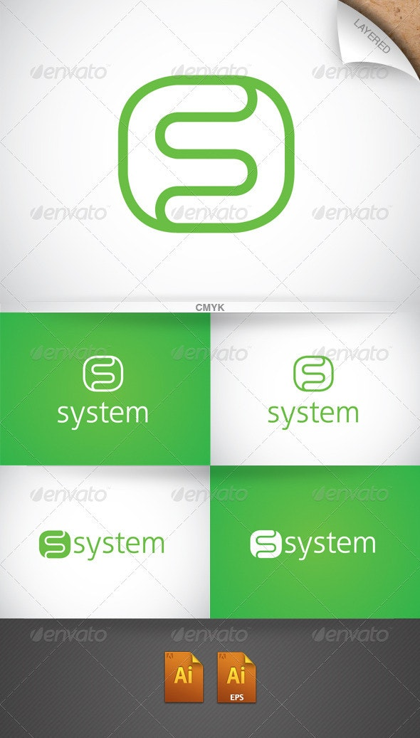 System Logo - Letters Logo Templates