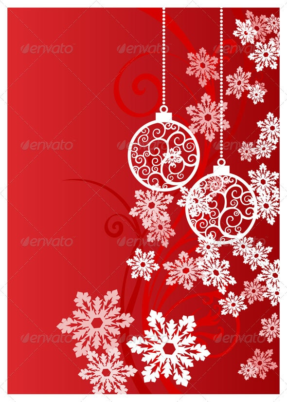 snow background - Backgrounds Decorative