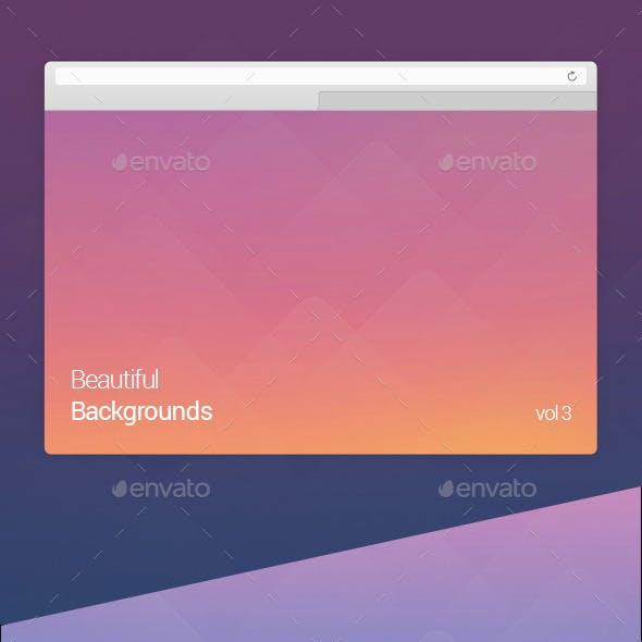 Beautiful Backgrounds Vol 3