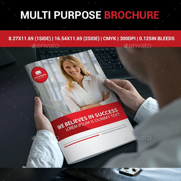 Multi Purpose Corporate Brochure