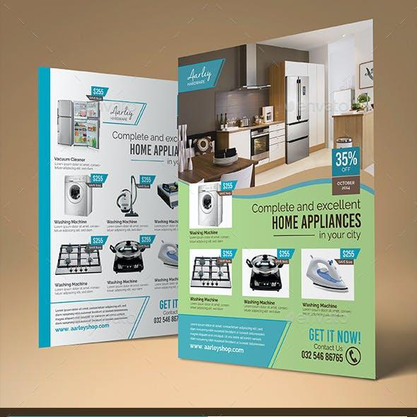 Home Appliances Flyer