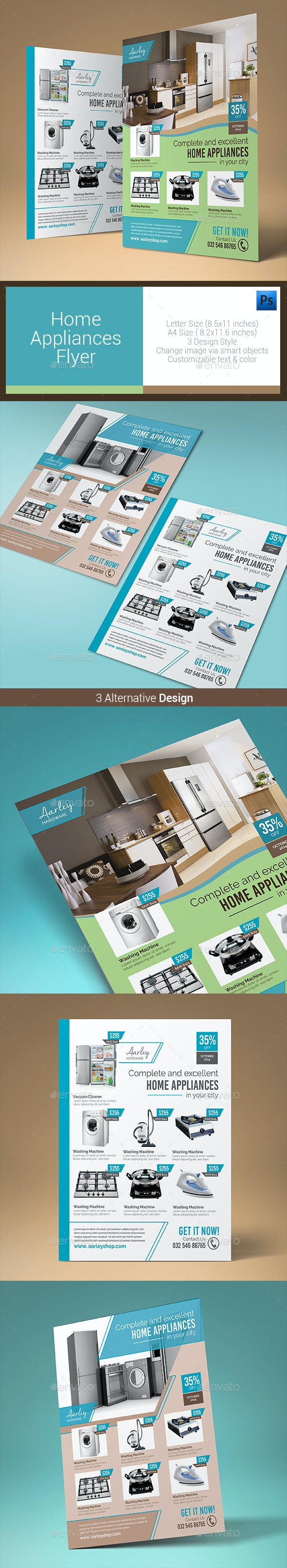 Home Appliances Flyer - Corporate Flyers