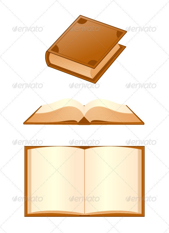 Books - Objects Vectors