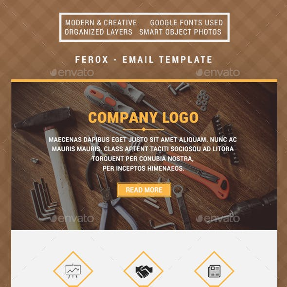 Ferox - Building Email Template