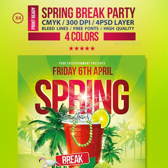 Spring Break Party    Festival Collection