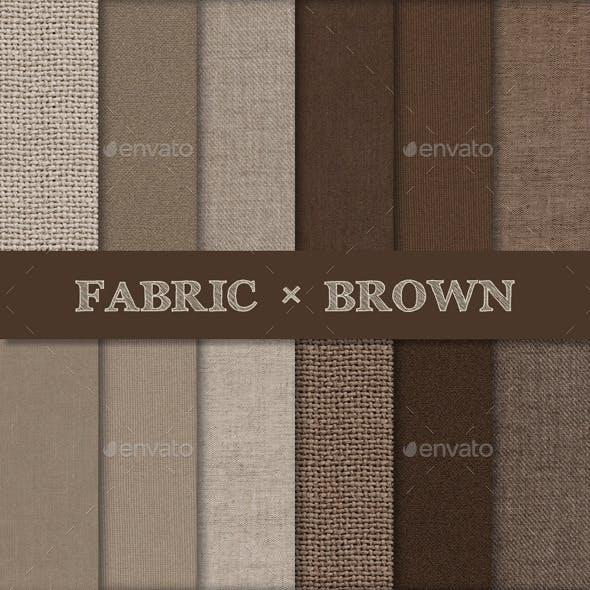 Fabric Texture Backgrounds - Brown