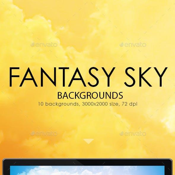 Fantasy Sky Backgrounds