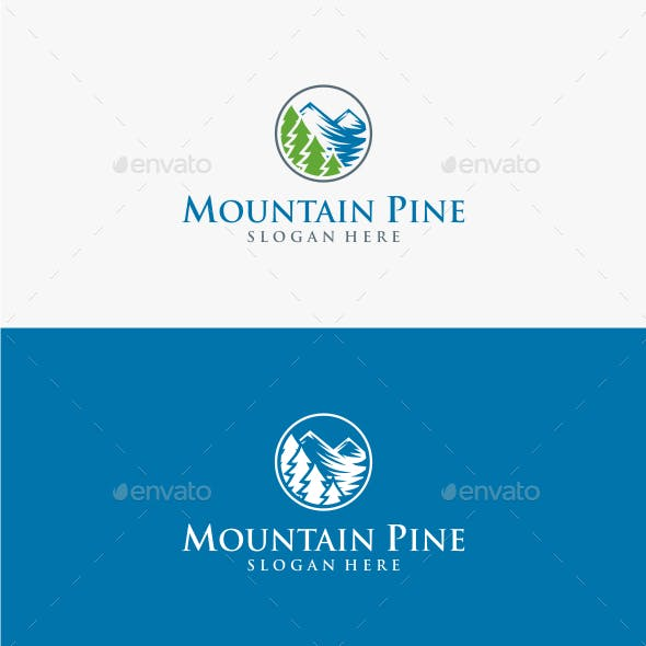 Mountain Pine - Logo Template